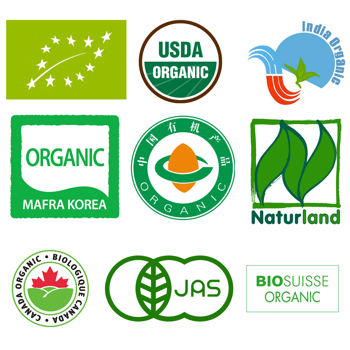 Organic & Foods Certifications - Nature Bio Foods