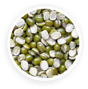 Organic Green Gram Split